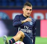 Verratti hobbles off for PSG against Guingamp