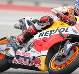 Marc Marquez Says Front Tire Was Destroyed Following MotoGP Austin Win