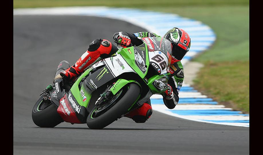 Sykes does the Donington double as he takes race 2 win
