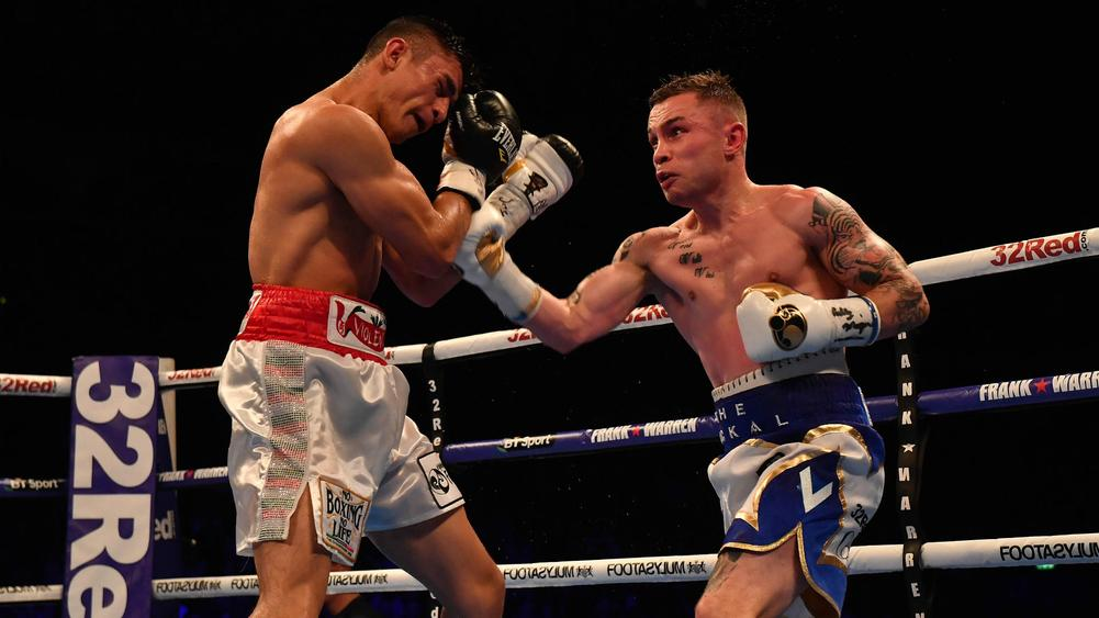 Carl Frampton secures points victory over Horacio Garcia on Belfast return