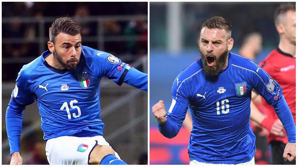 Barzagli and De Rossi