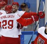 Russians blank Czechs to reach Olympic men's hockey final