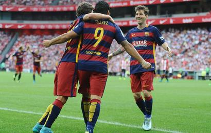 Barcelona Helped by Poor Defending For Three Points
