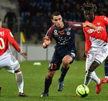 Ligue 1: Montpellier 0 Monaco 0