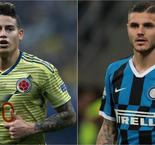 Ancelotti Talks Up 'True Quality' Of Napoli Targets James And Icardi