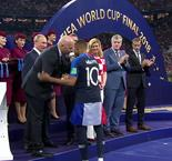 Mbappé picks up Young Player award