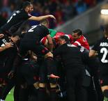 Romania wilt under the irresistible pressure of Albania's history boys