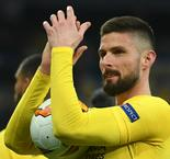 Giroud hints at Lyon interest