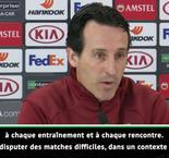 "Ligue Europa - Arsenal / Emery : ""On attend beaucoup de nous-mêmes"""