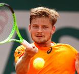 Goffin survives second-set blip in return from injury