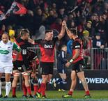 Crusaders overcome Hurricanes challenge