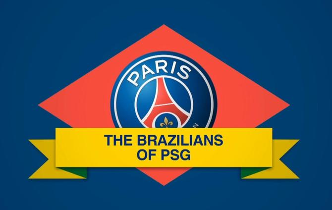 the history of brazilians at psg bein sports. Black Bedroom Furniture Sets. Home Design Ideas