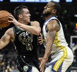 Les Warriors brillent à Milwaukee