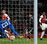 Arsenal 1 Qarabag 0: Lacazette on target as Saka shines