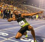 Usain Bolt Delights Jamaica With Win in Final Competitive Race
