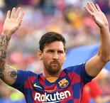 Messi has no regrets about Champions League claim
