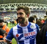 Grigg revels in dousing Manchester City's fire