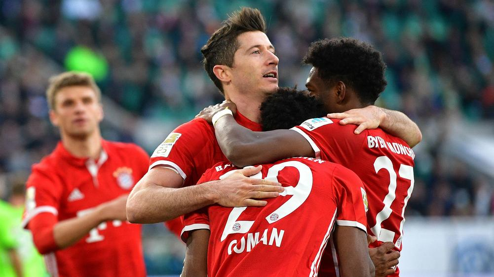 Bayern Munich win fifth consecutive Bundesliga title