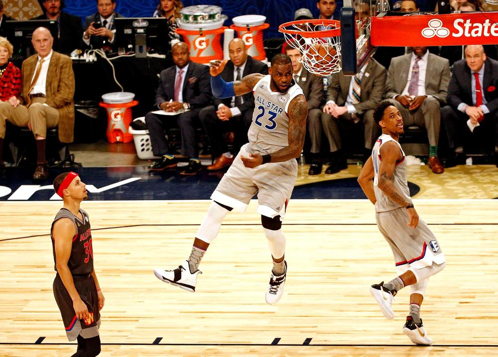LeBron et Curry capitaines du All Star Game