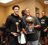 Les Lakers remportent la Summer League, Ball MVP