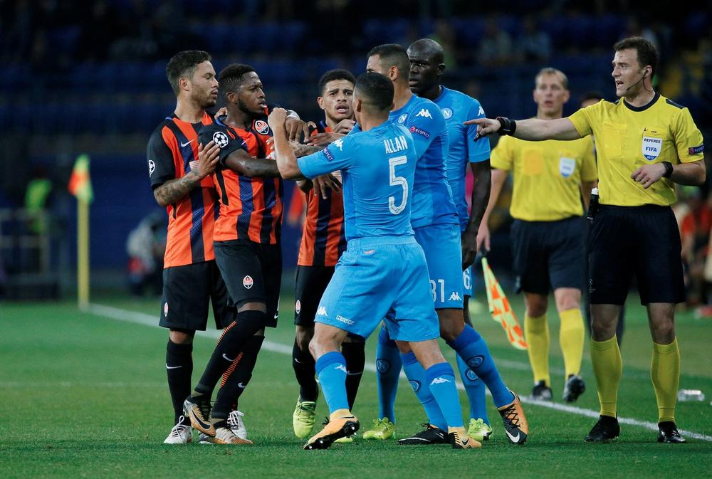 Shakhtar beat Napoli at their game
