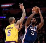 GAME RECAP: Lakers 121, Sixers 105