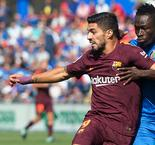 Getafe 1 Barcelona 2: Paulinho snatches victory but Dembele suffers injury scare