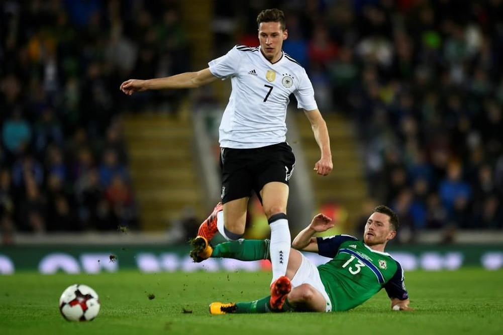 Allemagne: Draxler forfait