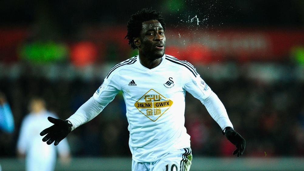 Swansea City Have Serie A Competition For Wilfried Bony