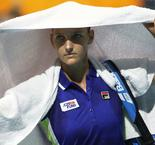 Pliskova-Hercog finely poised as rain strikes in Zhengzhou