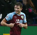Burnley 1 Brighton and Hove Albion 0: Tarkowski lifts Clarets out of drop zone