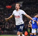 Kane breaks Sheringham's Premier League record for Spurs