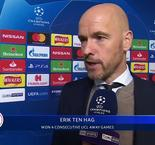 UEFA Champions League - Erik ten Hag Reaction