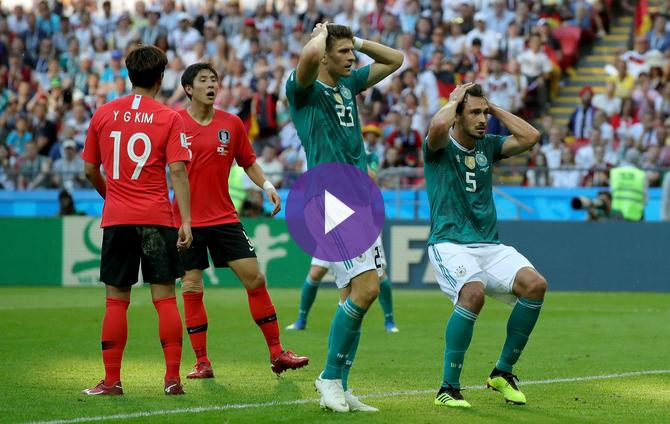 f9753b181 2018 FIFA World Cup- South Korea 2 Germany 0- Match Report! Live Streaming  Information