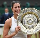 Marvellous Muguruza outguns Williams to claim Wimbledon title