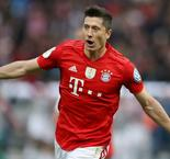 Lewandowski brace lifts Bayern to domestic double