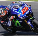 Viñales Takes Control on Day Two