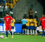 Chile to miss World Cup after Brazil loss