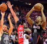 Blazers, Rockets and Warriors Fight Back for Wins