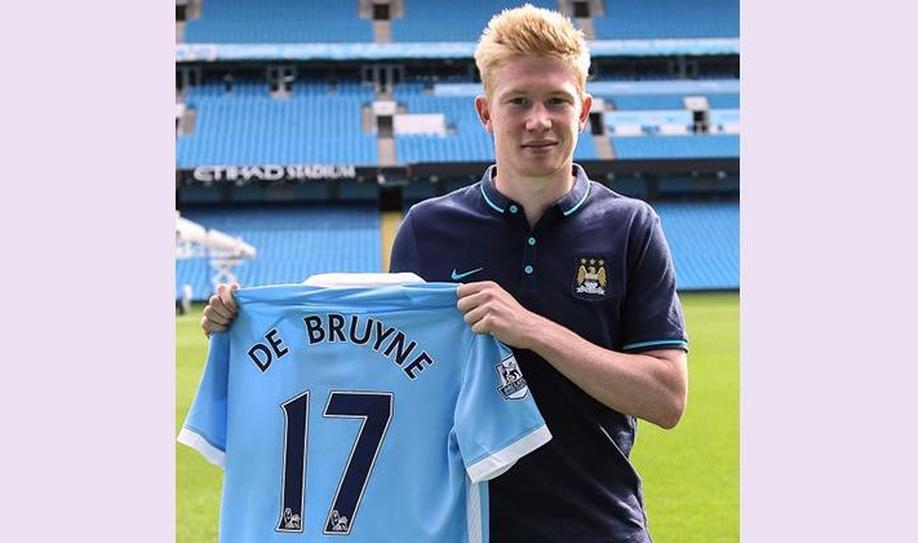 6. Kevin De Bruyne (75 million euros)