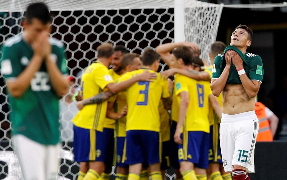 Mexico 0-3 Sweden  El Tri Advance as Germany Finish Bottom of Group F 0fe162e1b