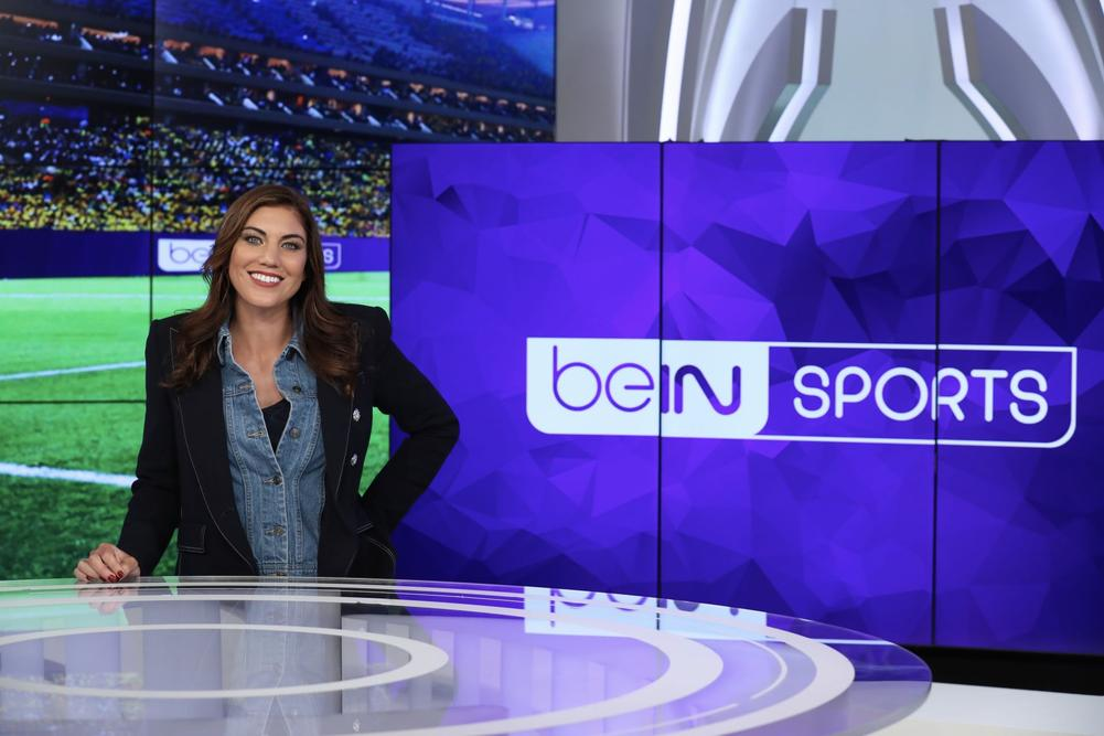 HOPE SOLO beIN SPORTS