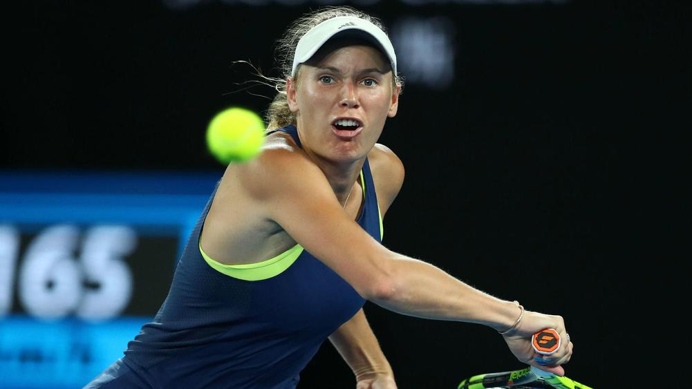 Dominant Wozniacki races into Saint Petersburg quarter-finals