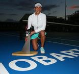 Mertens Makes History In Hobart
