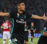 UEFA Super Cup: Casemiro scores for Real Madrid