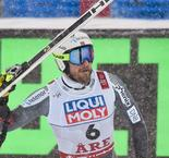 Norwegian one-two as Jansrud storms to world downhill gold ahead of Svindal