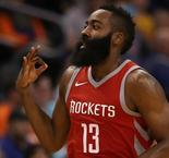 Harden leads Rockets to sixth straight win, Suns lose by 48 to Spurs