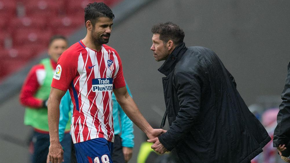 Image result for Diego Costa with Simeone