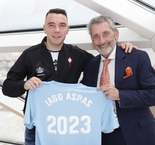 Aspas Signs Contract Extension With Celta Vigo
