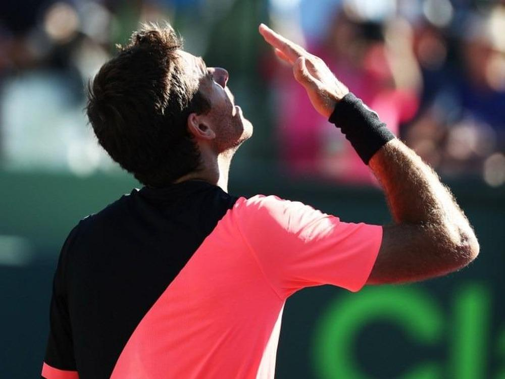 Cilic, del Potro reach Miami Open fourth round